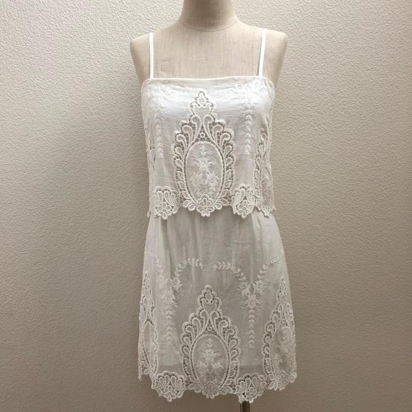 Ivory lace dress nordstroms